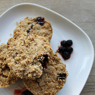 Morning Oat And Jam Cookies