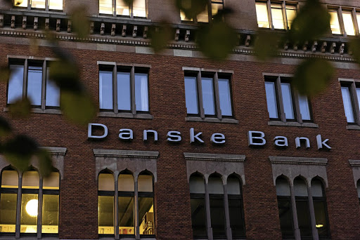 BYE-BYE, BORGEN: Shares in Danske Bank had doubled in value from when Thomas Borgen took over as CEO in 2013 to July 2017, but have since lost more than a third and he has resigned in the midst of a scandal. Picture: BLOOMBERG/FREYA INGRID MORALES