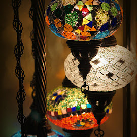 Turkish Lamps by Caroline Beaumont - Artistic Objects Glass ( turkish lamps )