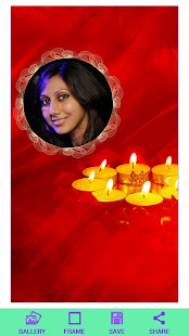 Download Diwali HD Photo Frame Free