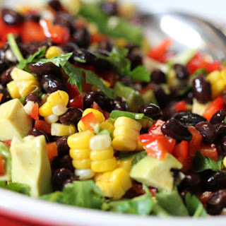 Avocado and Black Bean Salad.