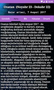 Gündəlik Bürclər və Ulduz Falı - náhled