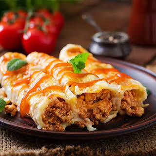 Slimming World Beef Cannelloni.