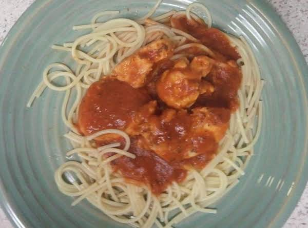Chicken And Spaghetti A La Quick And Easy ___bebita Recipe