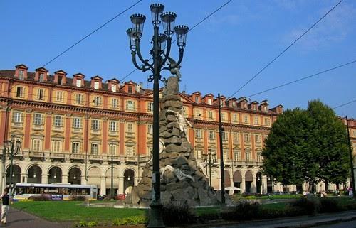 Portici di Torino, piazza Statuto