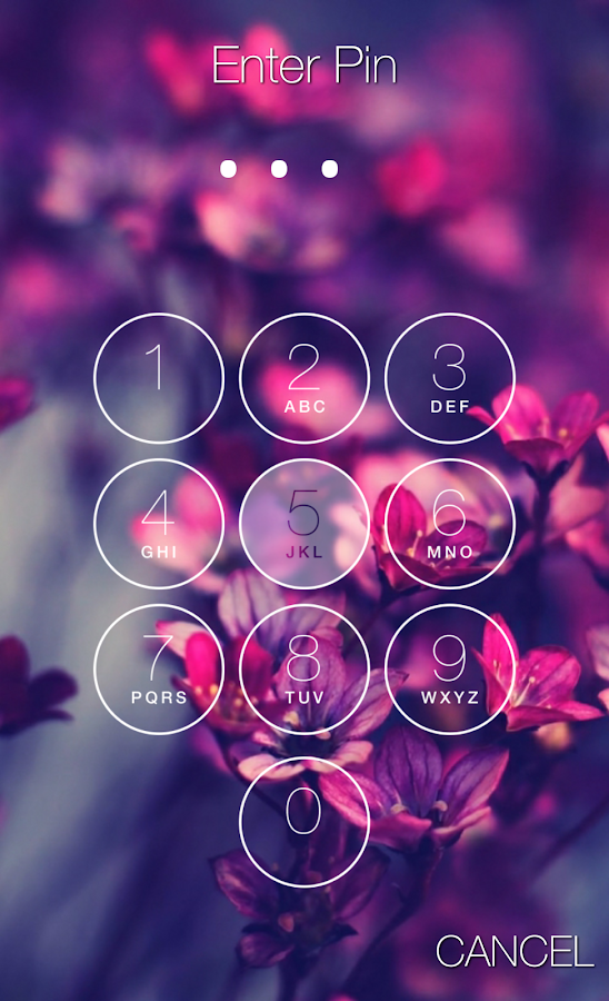 Screenshots of Keypad Lock Screen for iPhone