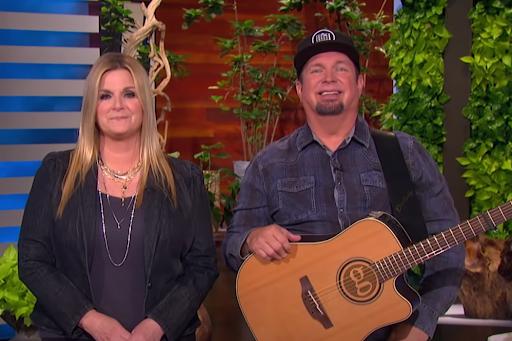 Garth Brooks & Trisha Yearwood Give Love Advice to 'Ellen' Audience