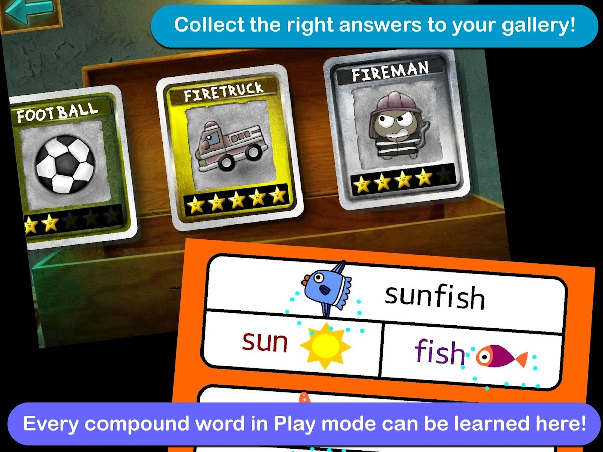 Compound Words With Gama- screenshot