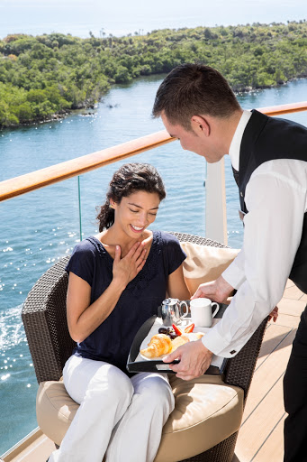 Celebrity-Suite-Class.jpg - Celebrity Suite Class benefits include a suites-only dining room, VIP lounge and personal butler who'll serve you on your balcony.