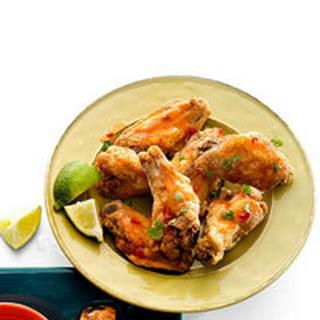 Asian Sweet Chili-Cilantro Wings.