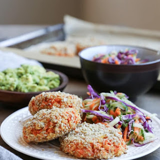 Sweet Potato and Parsnip Fritters.