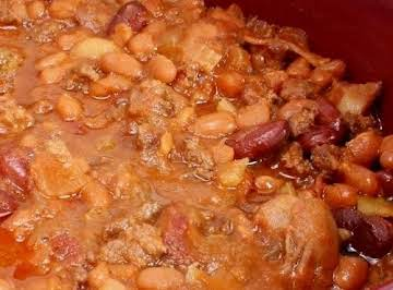 Calico Beans - Slow Cooked