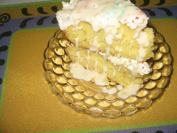 Coconut Lemonade Cake Recipe