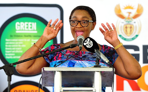 What's that tiny whine? The ANC Women's League falling briefly out of line