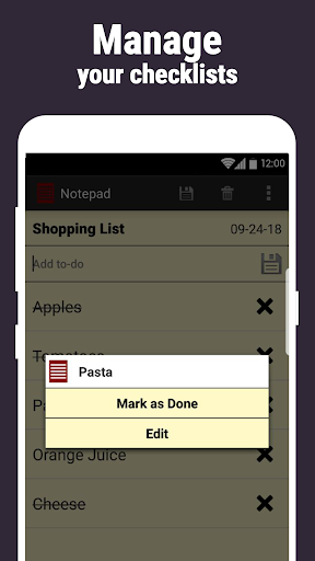 Notepad screenshot 6