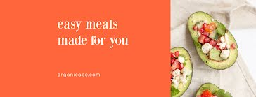 Easy Meals Made for You - Facebook Cover Photo template