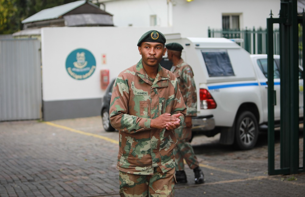 Soldiers on the streets will help enforce lockdown and 'instil sense of security' - SowetanLIVE