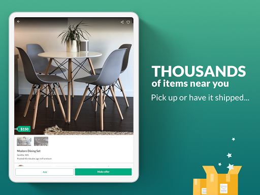 OfferUp: Buy. Sell. Letgo. Mobile marketplace screenshot 13