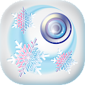 Winter Snow Photo Studio icon