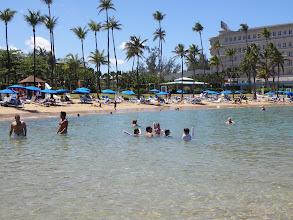 Photo: The Hilton's beach