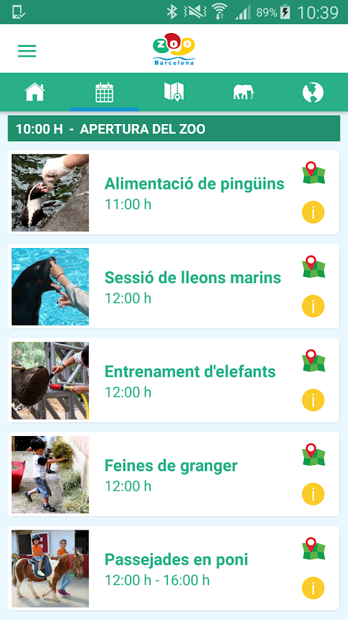 Zoo de Barcelona: captura de pantalla