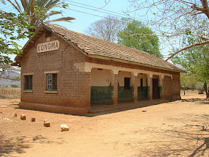 Photo: Kongwa station in 2008 sans rail lines