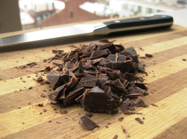 Chop chocolate with sharp knife into small pieces and set aside. NOTE** The original...