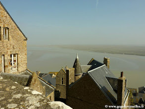 Photo: #011-Le Mont Saint-Michel et sa baie