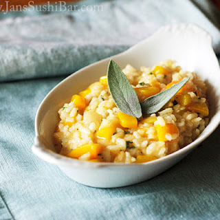 Butternut Squash and Sage Risotto.