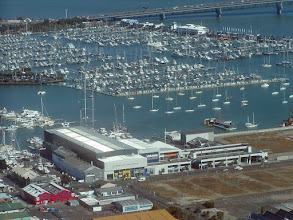 Photo: Auckland's residents love boating as evidenced by this marina.