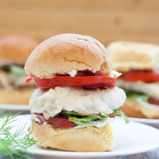 Simple Grilled Grouper Sliders