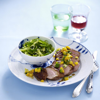 Teriyaki Duck Breast with Mango Salsa