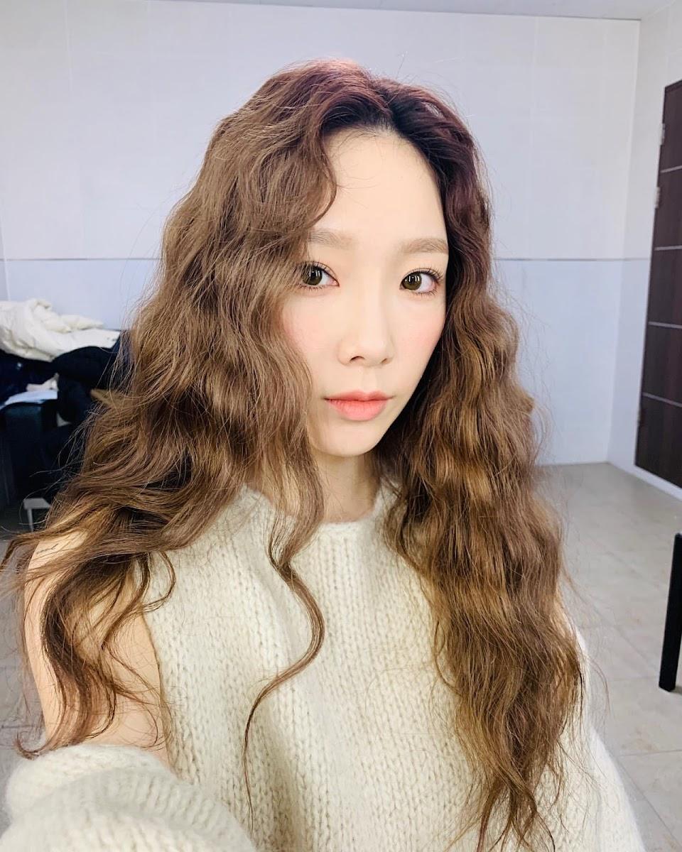 taeyeon curly 2