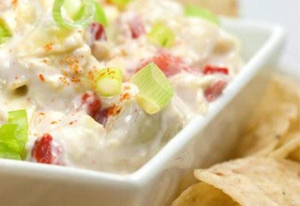Artichoke And Roasted Red Pepper Yogurt Dip Recipe