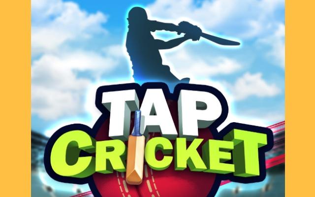 Tap Cricket Game