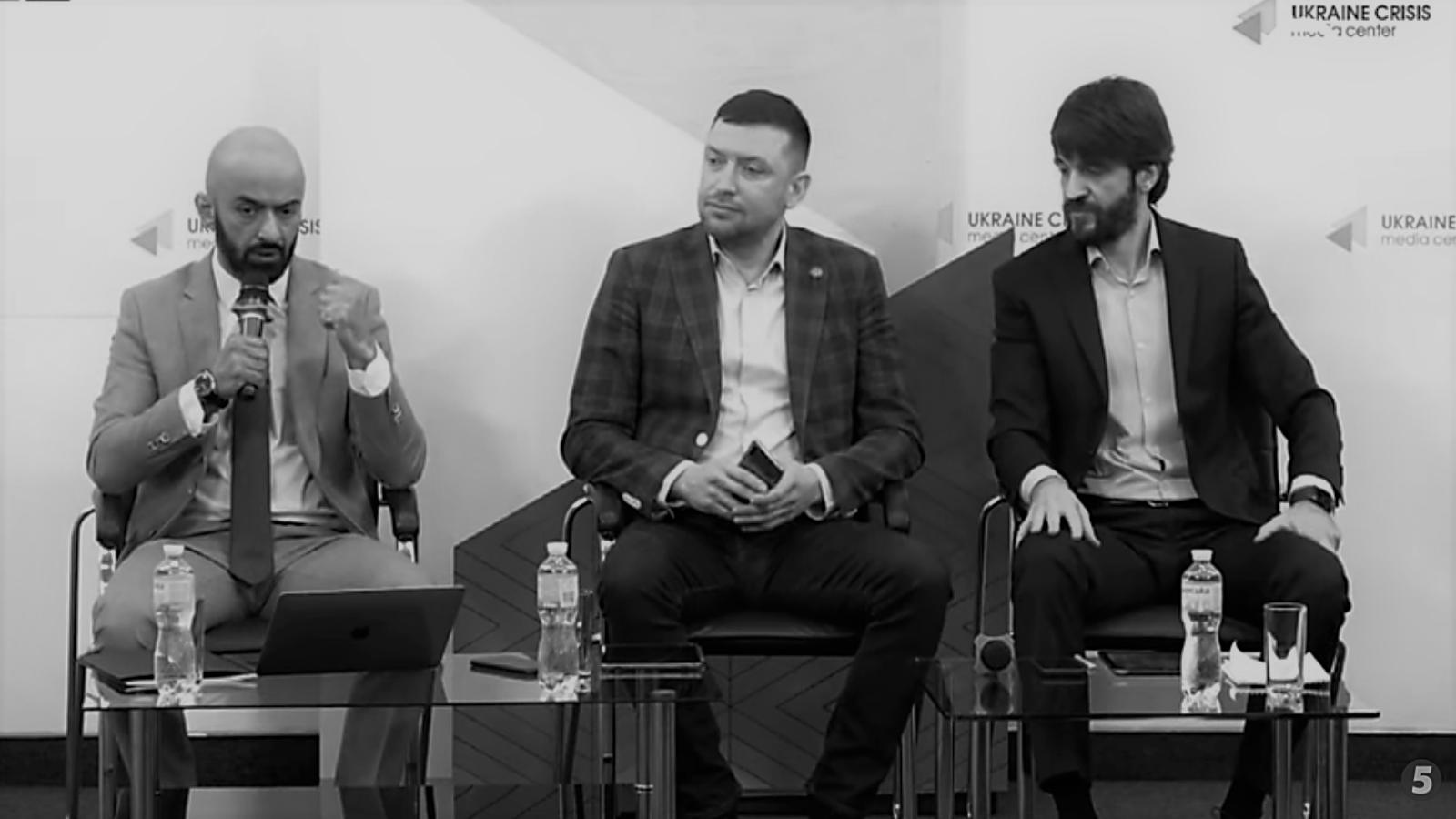 Скриншот видео брифинга адвокатов Сергея Стерненко