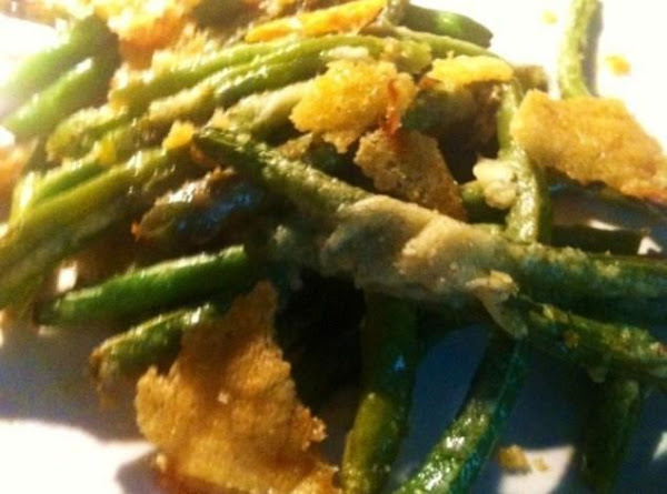 Garlic-parmesan Roasted Green Beans Recipe