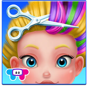 Crazy Hair Salon-Girl Makeover for PC and MAC