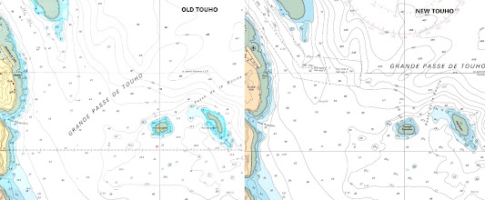 Photo: Touho - French Polynesia and New Caledonia Raster Chart Update - http://www.maxsea.com/products/charts/list/oceania/raster/wide/mapmedia/french_polynesia_new_caledonia