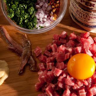 Classic Steak Tartare.