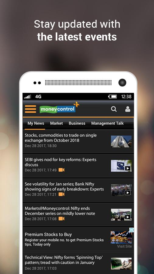 Moneycontrol – Stocks, Sensex, Mutual Funds, IPO Screenshot 7