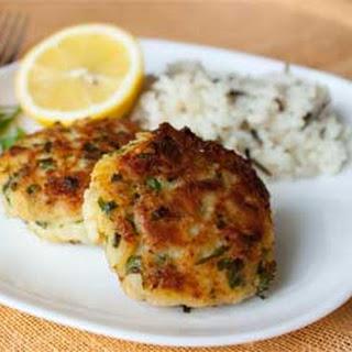 Russian Lemon-Parsley Fish Cakes
