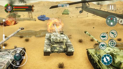 Battle Tank games 2020: Offline War Machines Games 1.6.1 screenshots 4