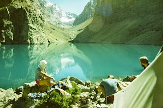 Photo: Fan Gebirge 1986 , Großer Allo-See