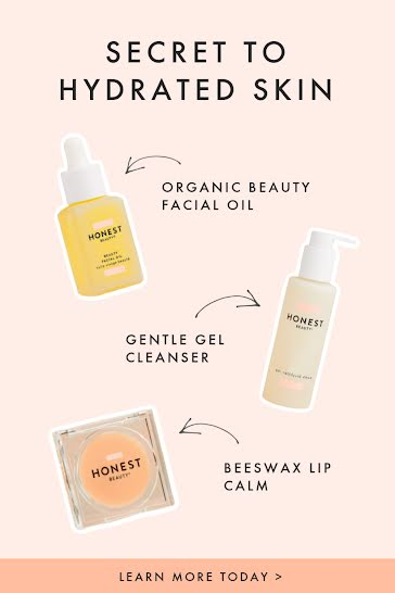Hydrated Skin - Pinterest Pin Template
