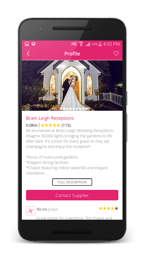Easy Weddings Directory- screenshot