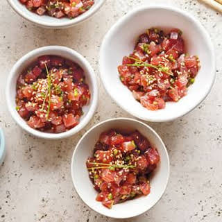 Tuna Tartare with Sesame.