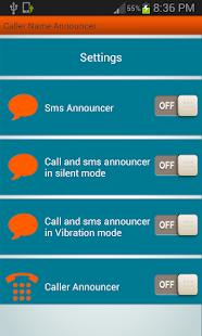 Caller Name Announcer screenshot