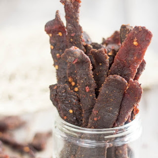 Hot & Spicy Home Made Beef Jerky.