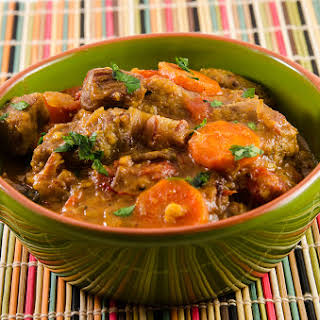 Moroccan Inspired Lamb Stew.